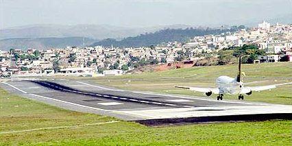 Aeroporto da Pampulha está 57% ocioso  / Divulgação
