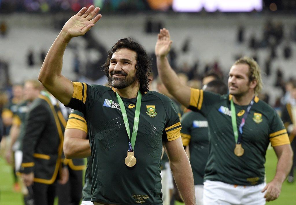 África do Sul fica em terceiro no Mundial de Rúgbi