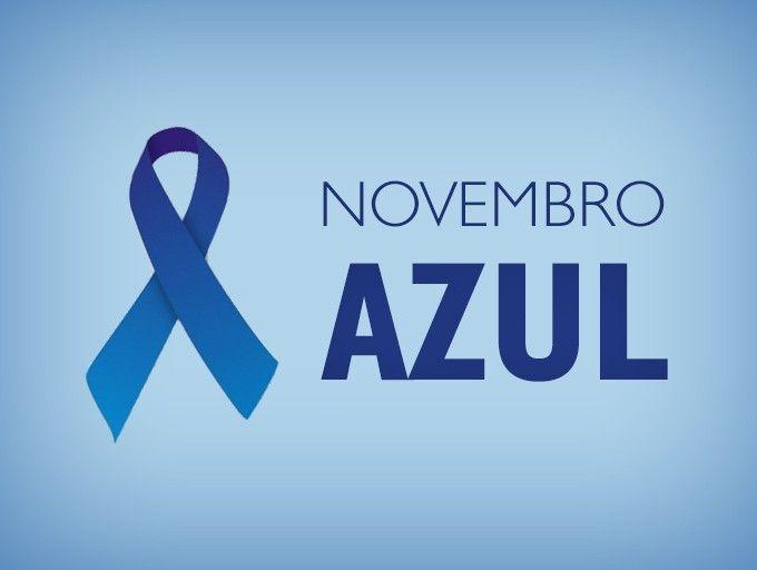 Resultado de imagem para CAMPANHA DO NOVEMBRO AZUL - LOGOS