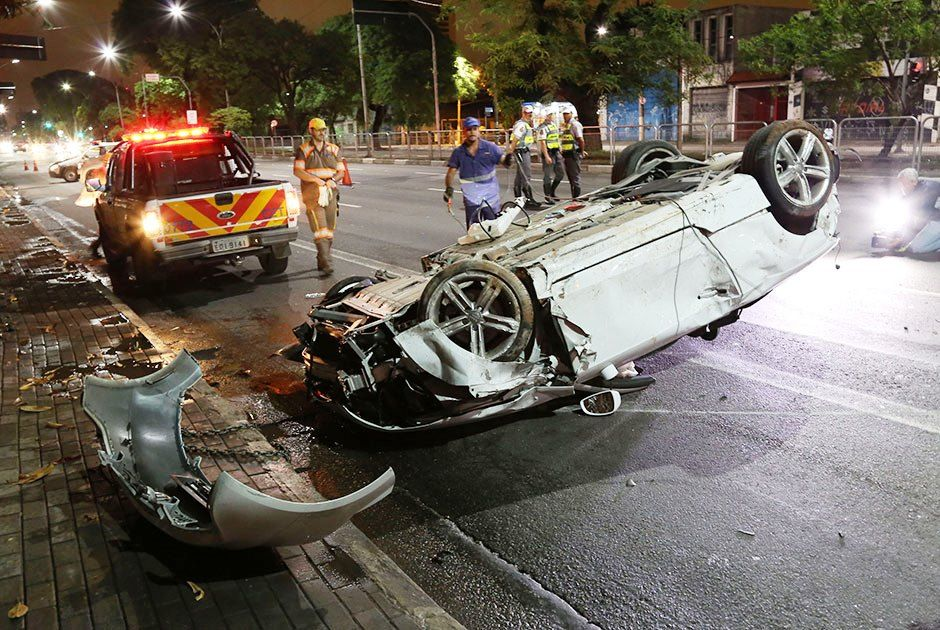 Mortes no trânsito de SP caem 28% em agosto