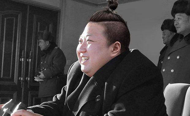 esigners do site DesignCrowd recriaram imagens de políticos com coque