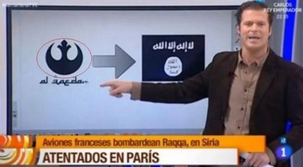 Símbolo da al-Qaeda é confundido com o de Star Wars