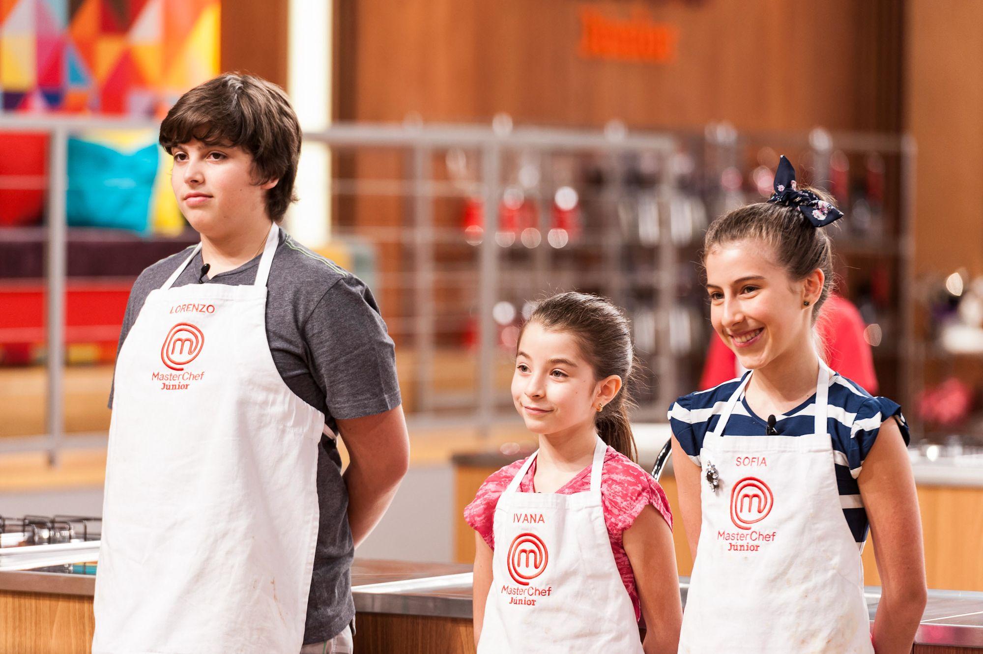 Lorenzzo, Ivana e Sofia estão entre os 10 melhores cozinheiros mirins do Brasil / Divulgação - Band