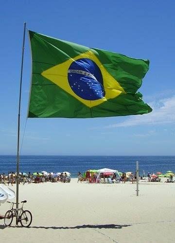 Bandeira do Brasil postada por Josh Duhamel