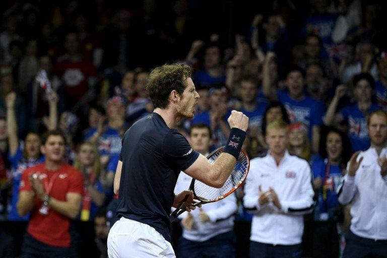 Andy Murray garante título da Grã-Bretanha