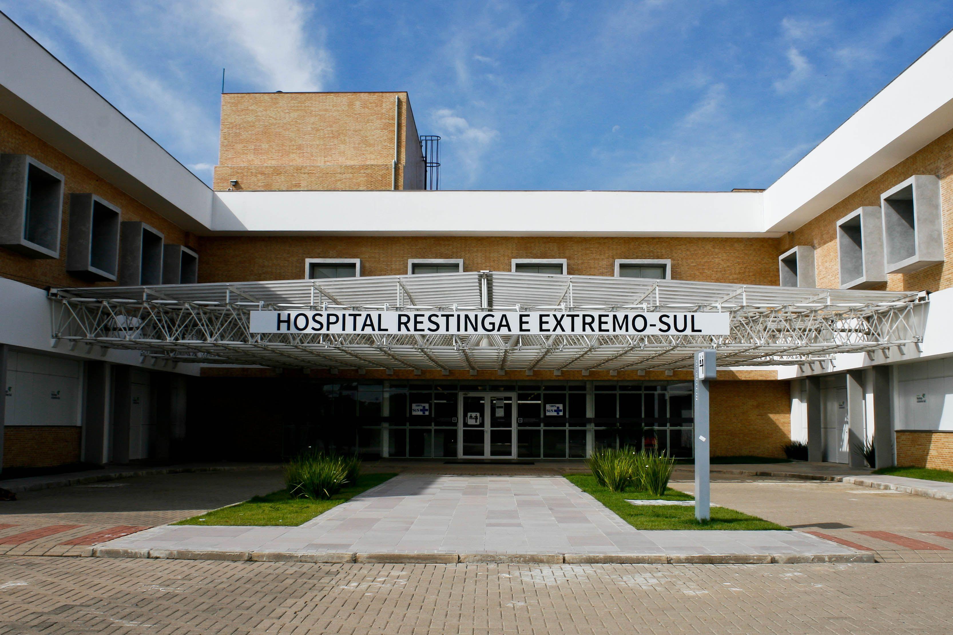 Hospital Restinga / Divulgação/Maia Rubim/PMPA