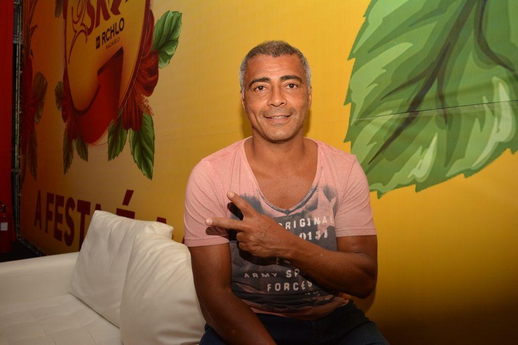 Romário prestigiou o evento no RN