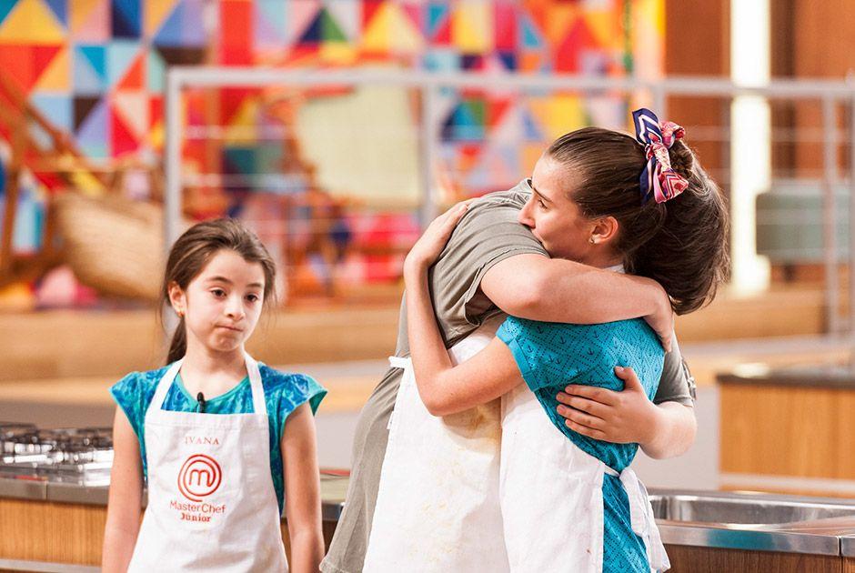 Ivana e Sofia se despedem do MasterChef Júnior