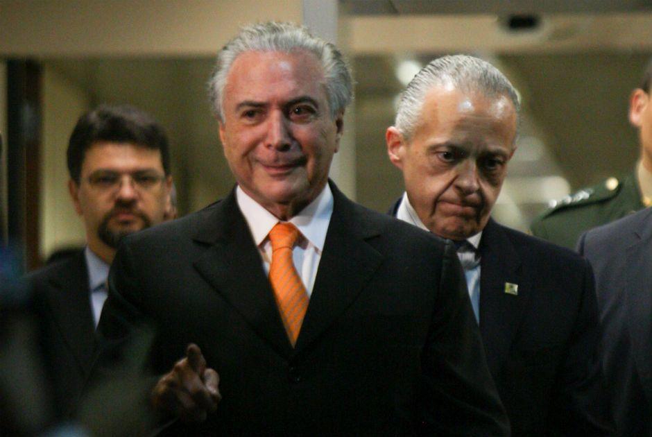 Presidente do Senado negou que o objetivo do documento tenha sido atingir o vice-presidente / Joel Rodrigues/FramePhoto/Folhapress