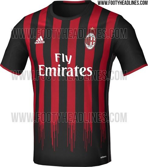 1012b89b6d Camisa do Milan para próxima temporada