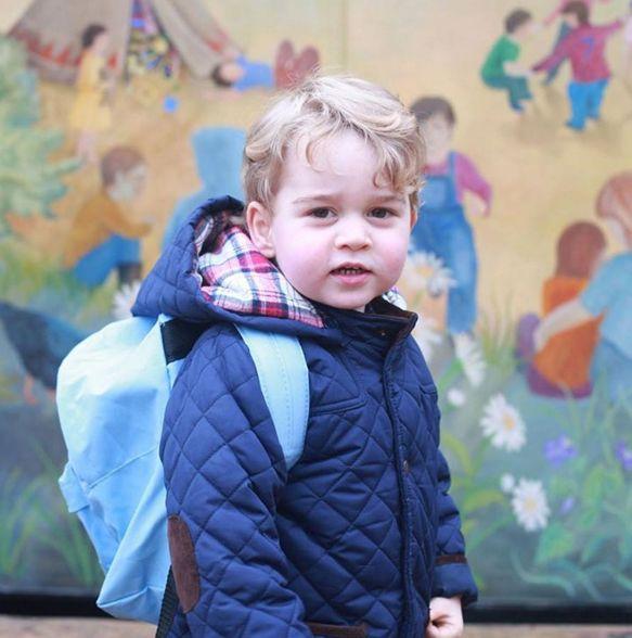 Principe George vai para a escola Thoma´s Battersea / Reprodução/Kensington Palace