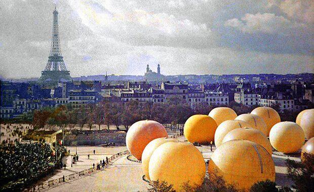 Fotos antigas mostram Paris na década de 1900