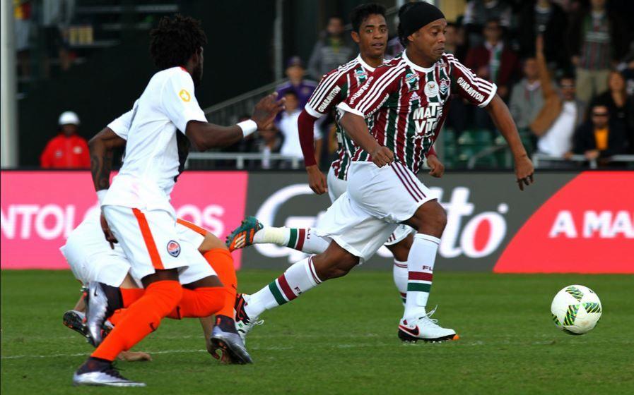 Fluminense foi o último time de Ronaldinho (Foto  Nelson Perez Fluminense  F.C.) c3528d5ea63e0