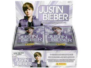 Justin Bieber agora também pode ser adquirido via figurinhas