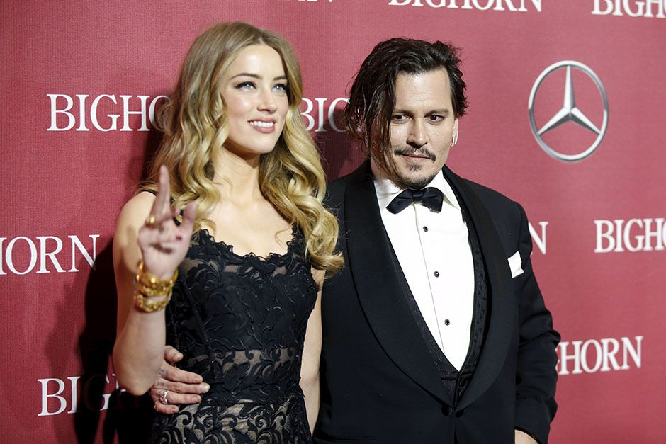 Advogado de Amber Heard nega que tenha chantageado Johnny Depp