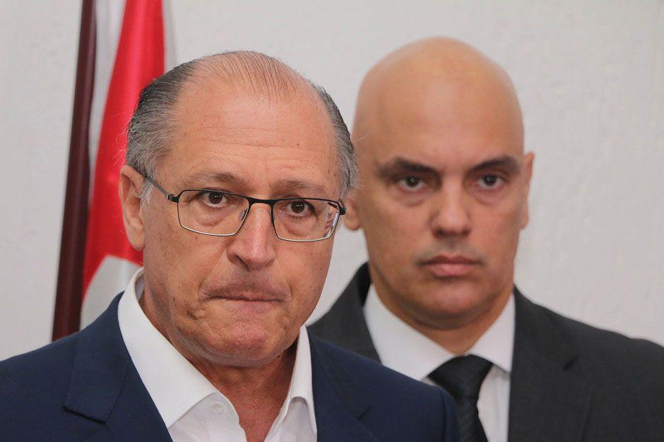 Na época, o governador era, como agora, Geraldo Alckmin (PSDB) / Marcelo S. Camargo/Frame Photo/Folhapress