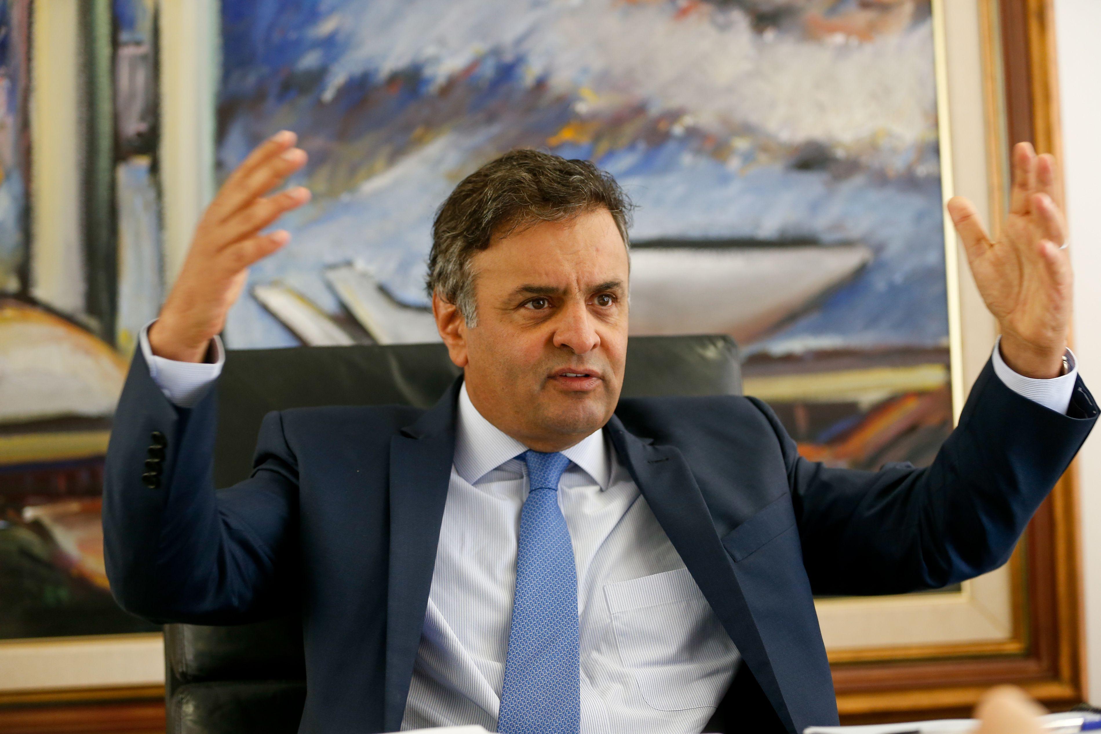 Aécio Neves já foi citado em outras duas vezes, mas procedimentos foram arquivados / Pedro Ladeira/Folhapress