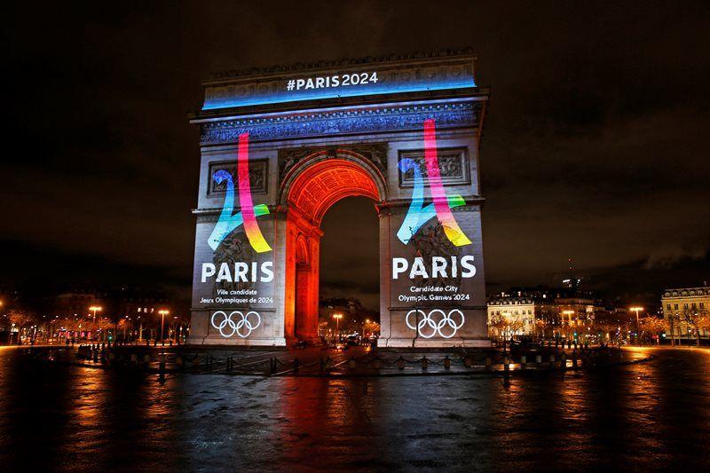 Paris divulga logo para candidatura à Olimpíada de 2024