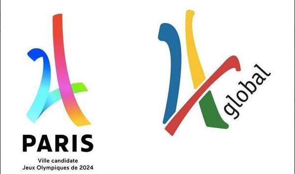 Logo de Paris para Jogos de 2024 é acusado de plágio