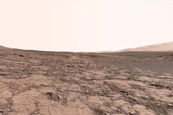 Nasa divulga vídeo de Marte em 360 graus