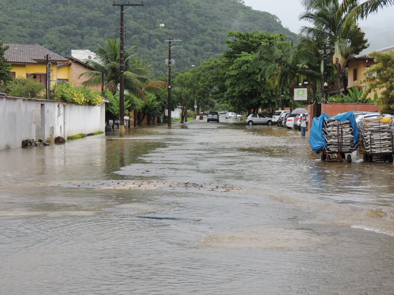 Defesa Civil de São Sebastião faz alerta sobre as chuvas na cidade