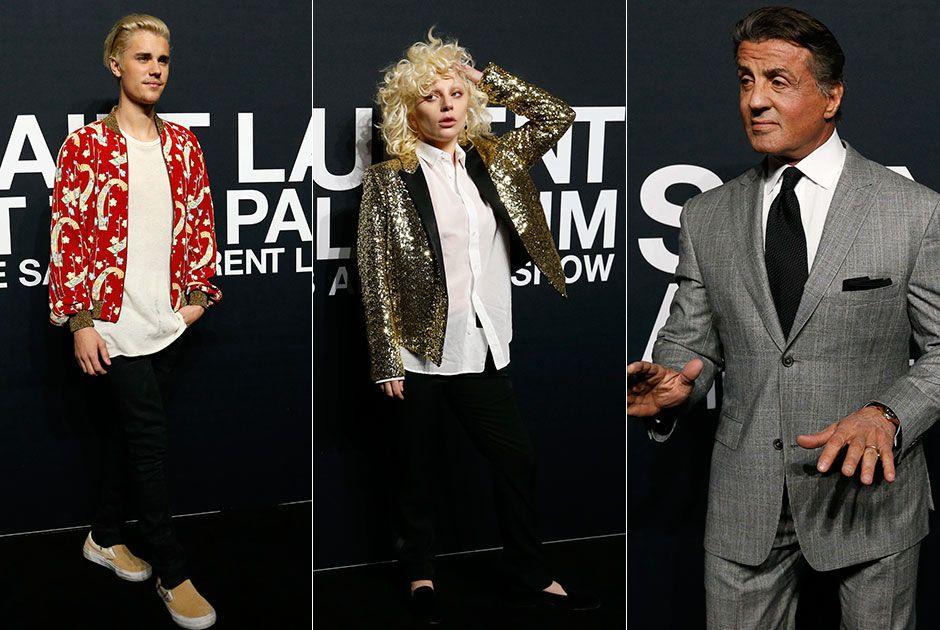 Em Los Angeles, celebridades prestigiam Saint Laurent
