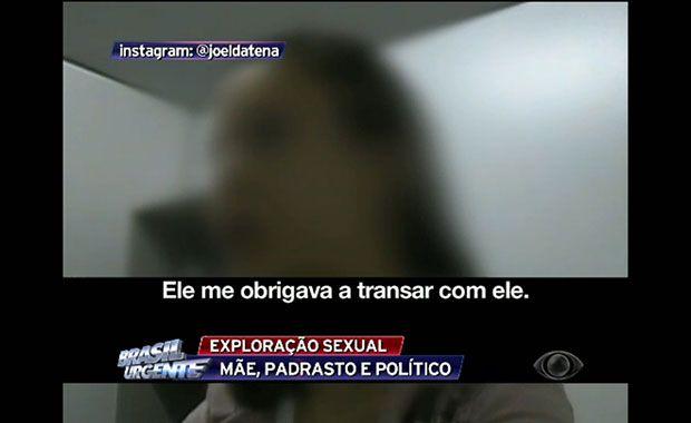 ex-vereador garota oferecida pelos pais