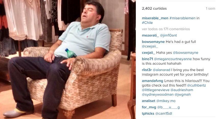 Instagram mostra tédio de maridos enquanto mulheres fazem compras
