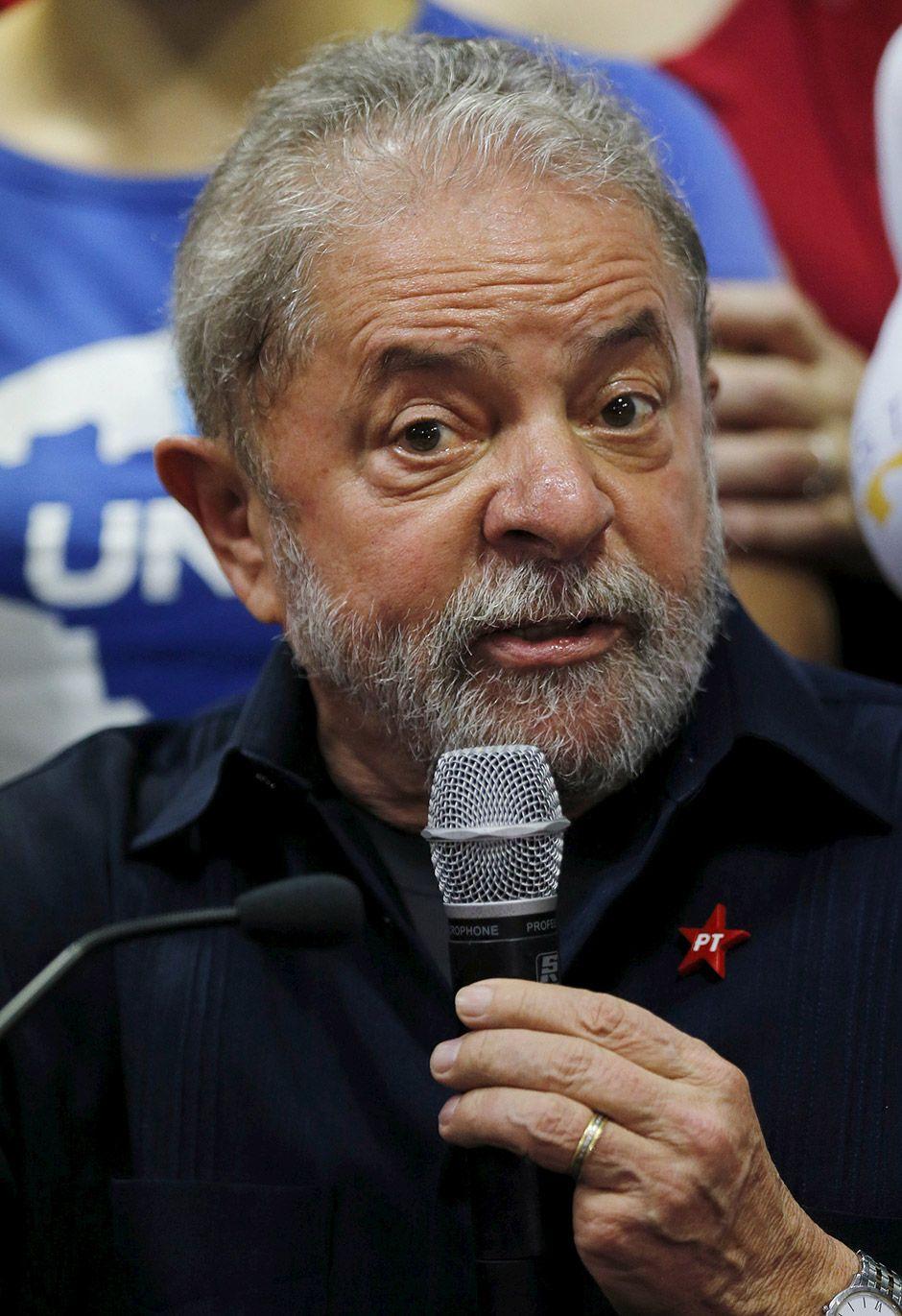 Lula falou sobre ação da PF no diretório do PT  / Paulo Whitaker/Reuteres