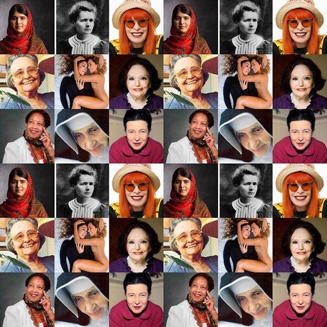 e78945cb7 Mercury relembra grandes mulheres em montagem Divulgação Instagram