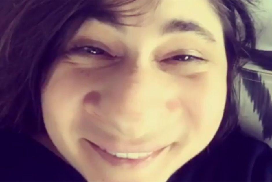 Esra Dermancıoğlu se diverte no Snapchat