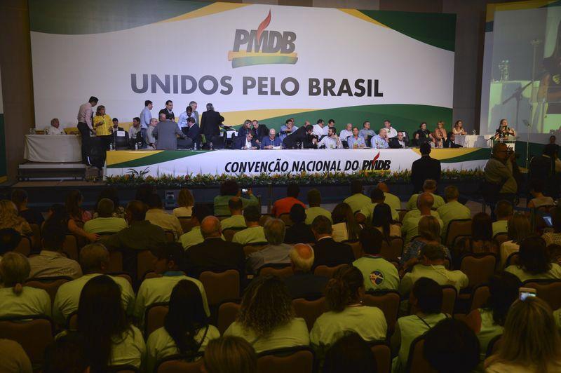 PMDB se reúne em convenção coletiva / Valter Campanato/Agência Brasil
