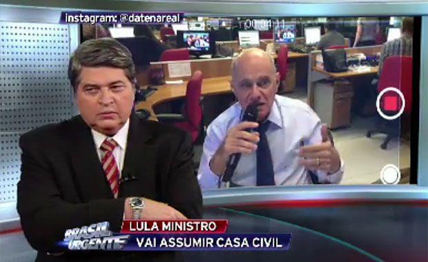 Boechat e Datena comentam conversa entre Lula e Dilma