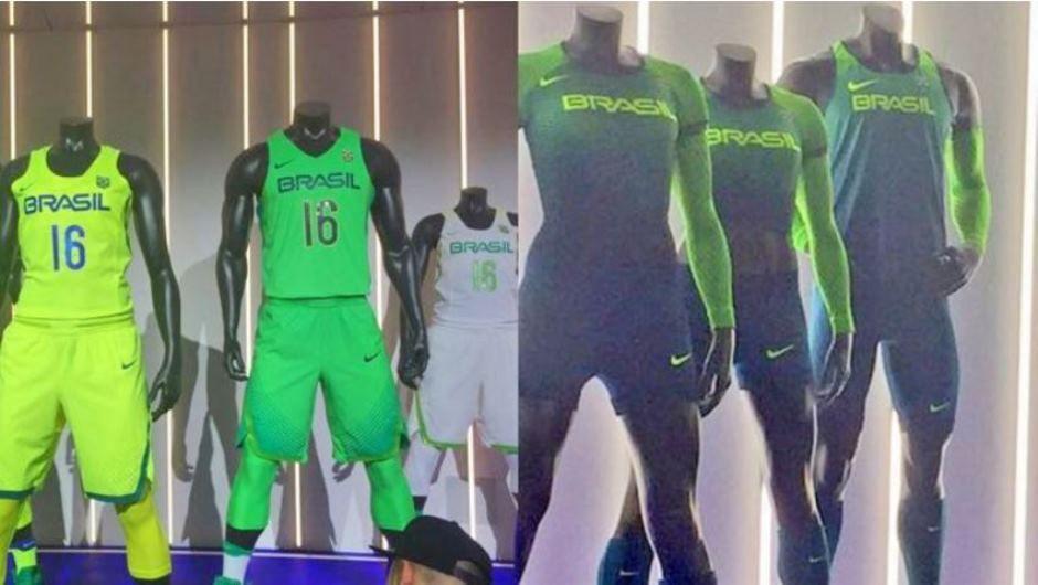 96e140c03 Novos uniformes foram apresentados em cerimônia nos EUA (Foto   Divulgação Time Brasil)