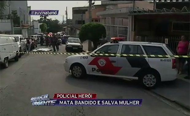 Policial reage a assalto e mata ladrão em Pirituba