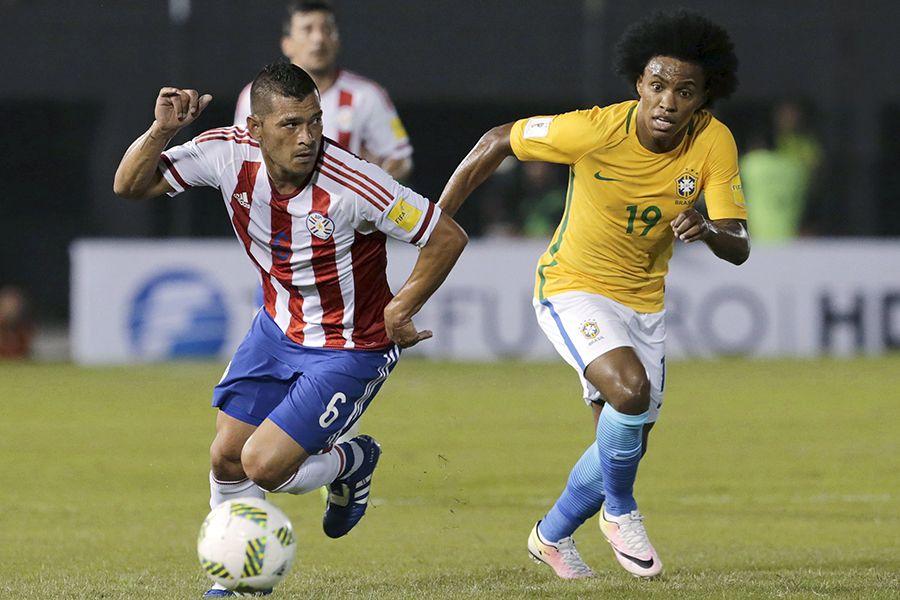Brasil escapou da derrota no fim - Mario Valdez/Reuters