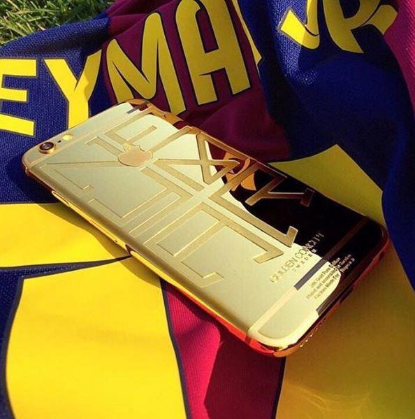 Neymar agradeceu o presente pelo Instagram - Divulgação/Instagram