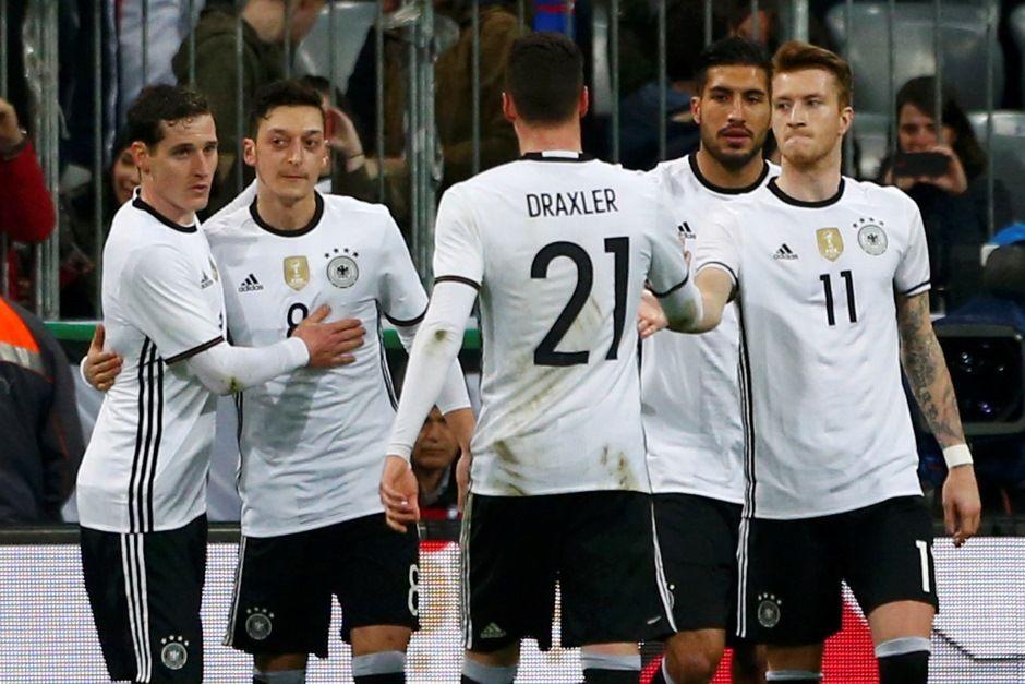 Jogadores da Alemanha ganharão 300 mil euros cada caso ganhem Euro