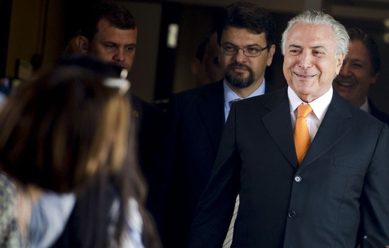 Michel Temer no Palácio do Planalto / Marcelo Camargo/Agência Brasil