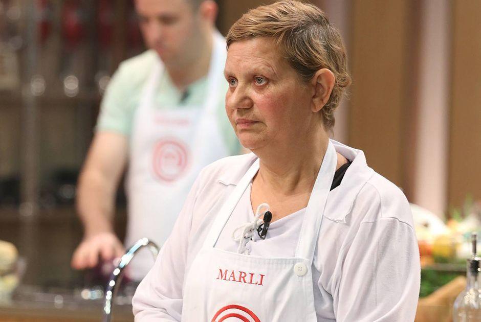 Marli durante sua participação no MasterChef 2014