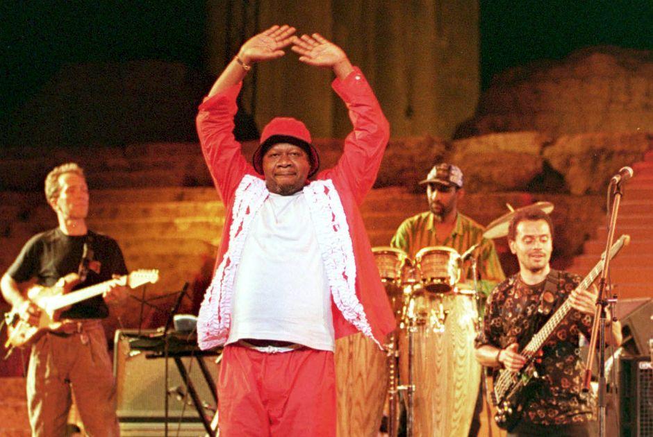 Papa Wemba tinha um gosto extravagante para roupas