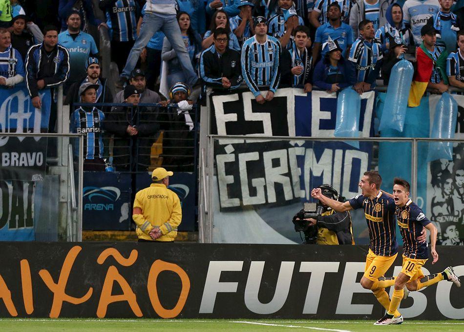 Grêmio perde para o Rosario Central em casa