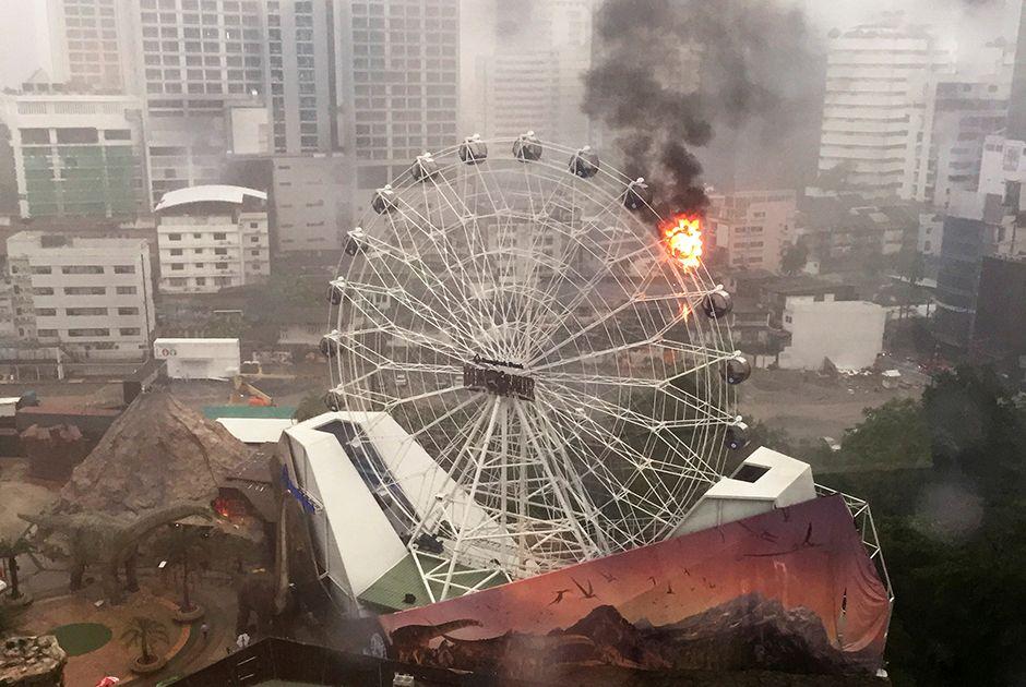 Parque onde ocorreu o incêndio abriu em março / Stringer/Reuters