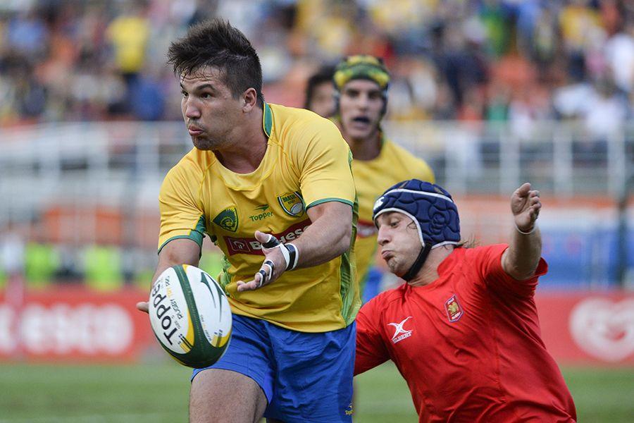 Seleção brasileira de rugby empata com o Chile no Pacaembu