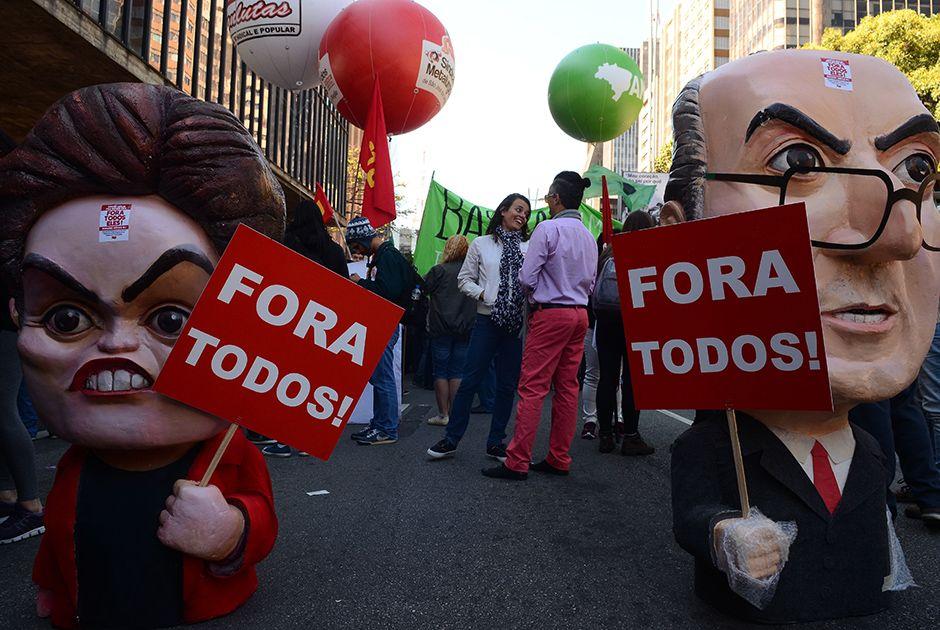 Na Paulista, Conlutas pede novas eleições gerais