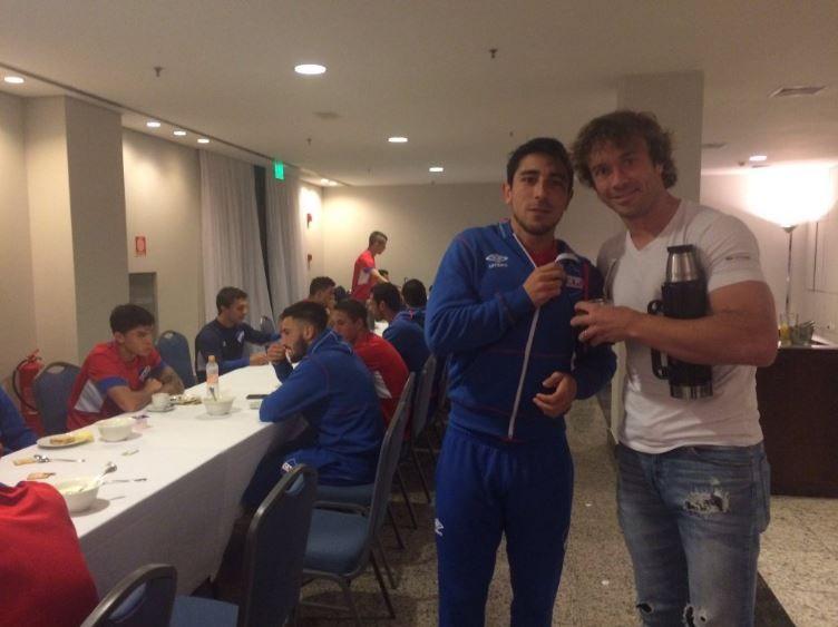 Lugano vai à concentração para apoiar rival do Corinthians