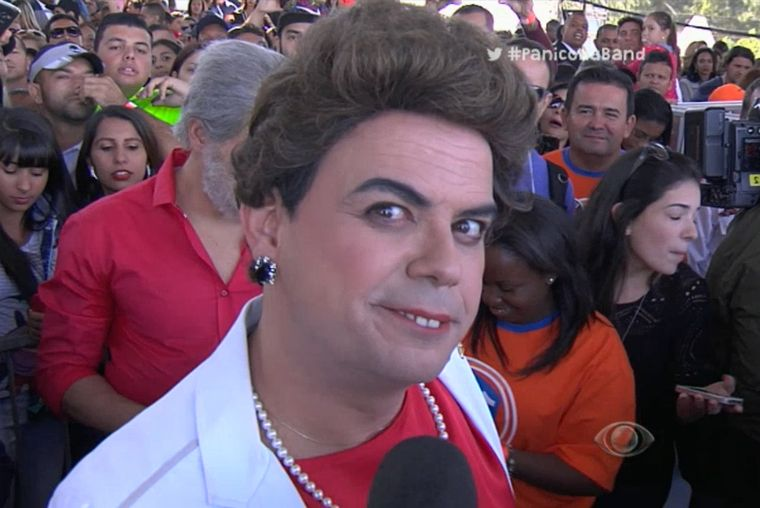 Acabo ouvindo o que o povo quer falar para Dilma, diz Carioca