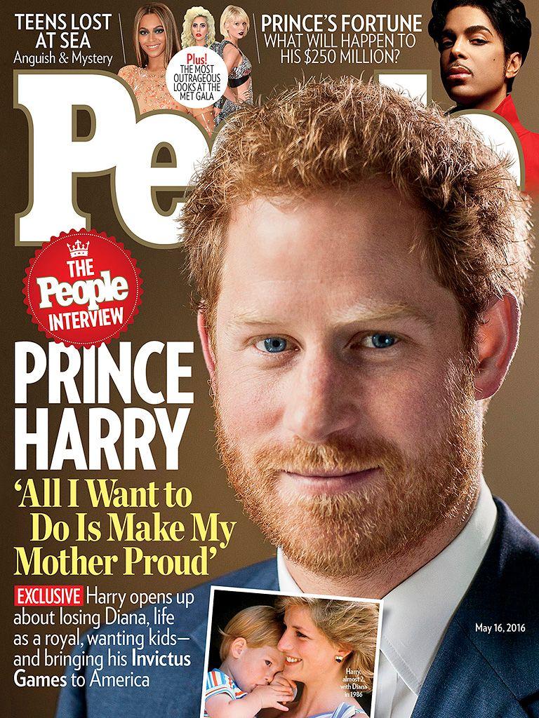 Príncipe Harry: Quero deixar minha mãe orgulhosa