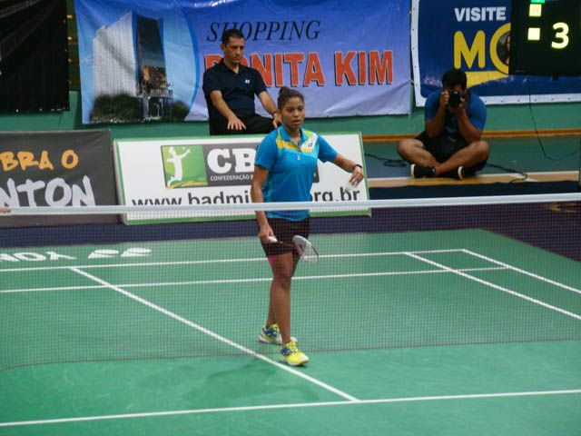 Convite garante atleta do badminton no Rio 2016