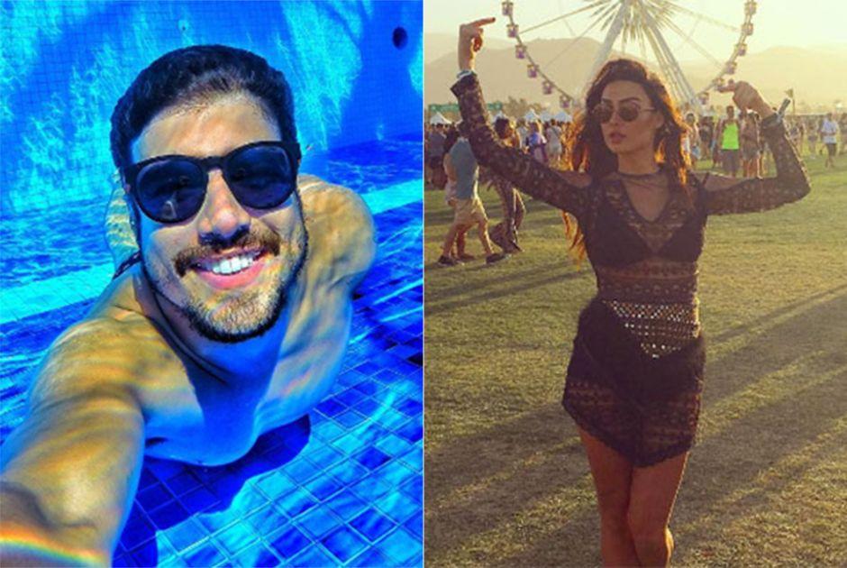 Caio Castro e Thaila Ayala gostam de curtir a vida